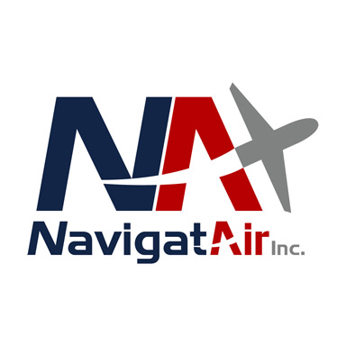 NavigatAir Inc.: Logo for Private Jet Charter Company