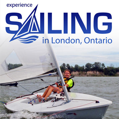 Fanshawe Yacht Club and Sailing School: Marketing Postcard: Front