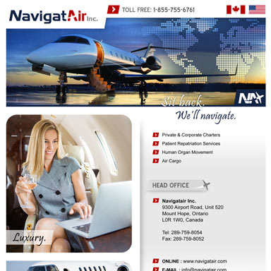 NavigatAir Inc.: Aircraft Fleet Brochure
