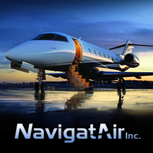 NavigatAir Logo and Web Site